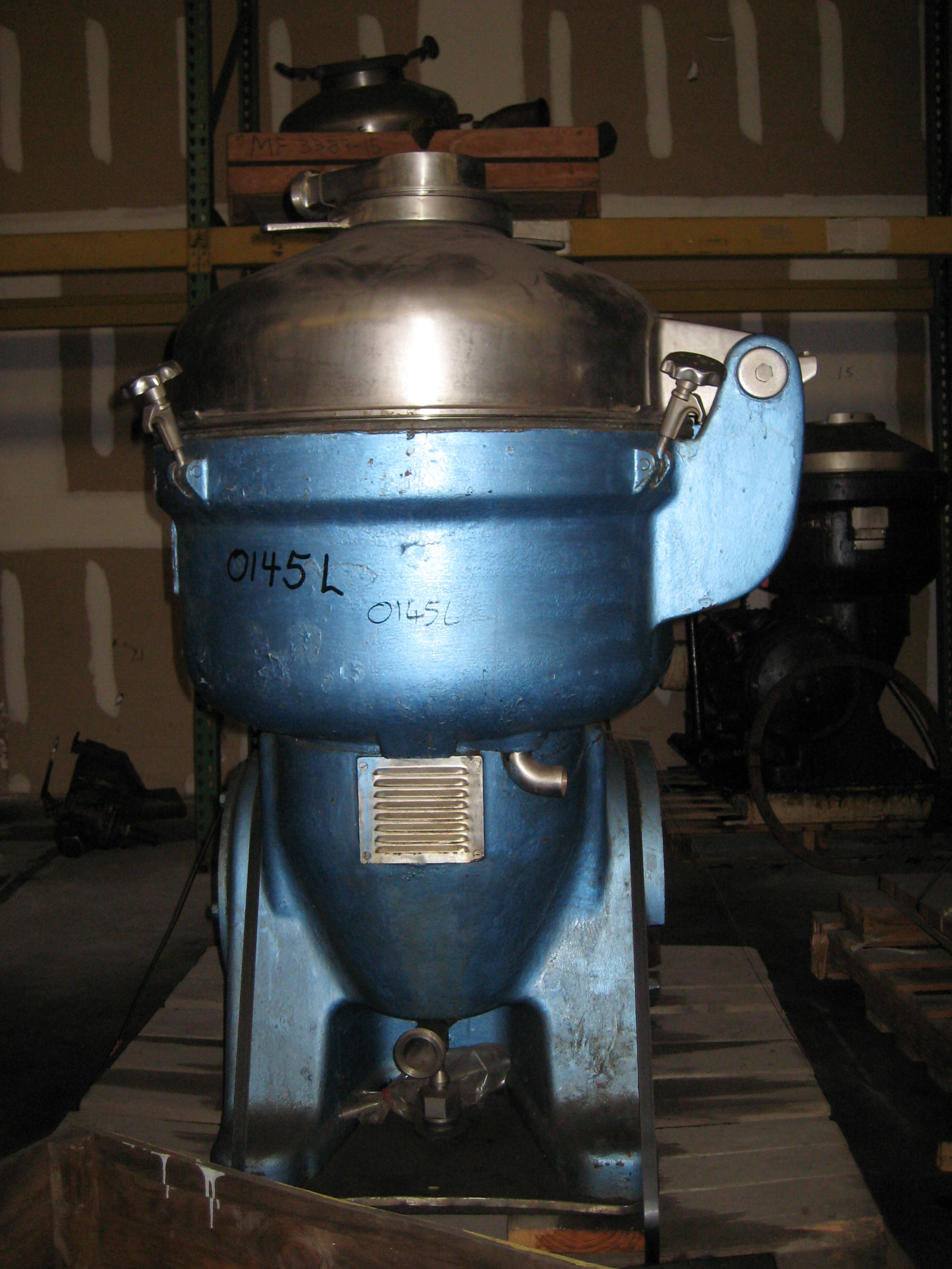 Delaval BRH 214-34 H-12 Disc Centrifuge