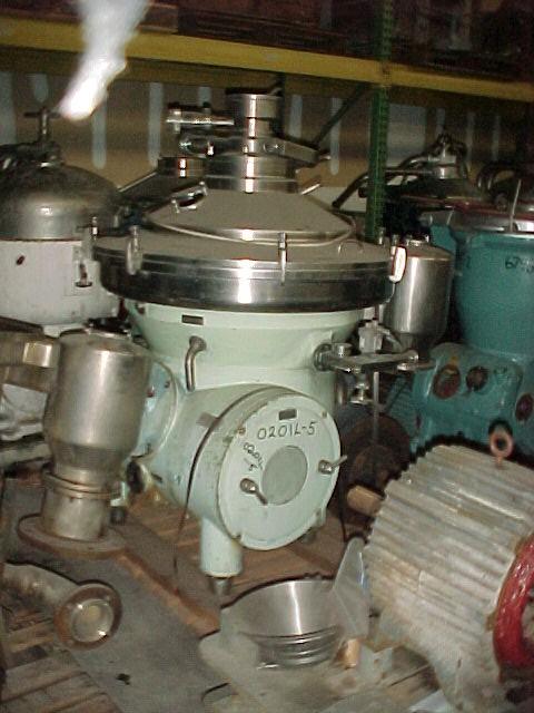 Westfalia Model SAKP 20036 (SA80-47-076) Clarifier/Desludger