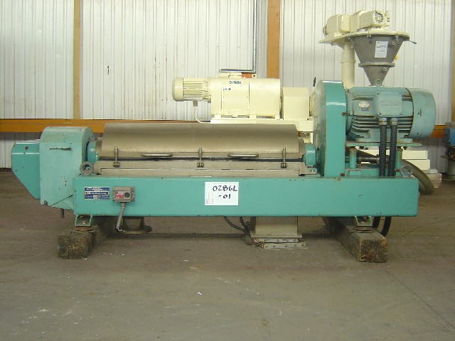 Alfa Laval AVNX 419-B31G-6101-4064-89 310mm Dia Decanter Centrifuge