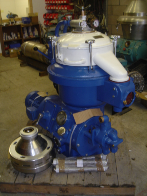 Alfa Laval Model MAPX 207S-14-60 Stainless Steel Disc Bowl Centrifuge