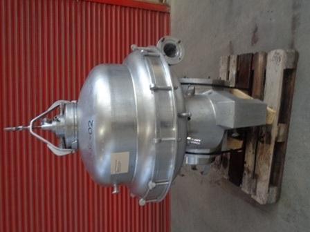 Alfa Laval Model SRPX 417HGV-14CH Stainless Steel Separator Centrifuge