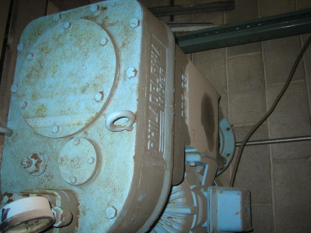 1.25 HP 1750 Input RPM, 118 Output RPM Reconditioned Philadelphia Agitator Drive