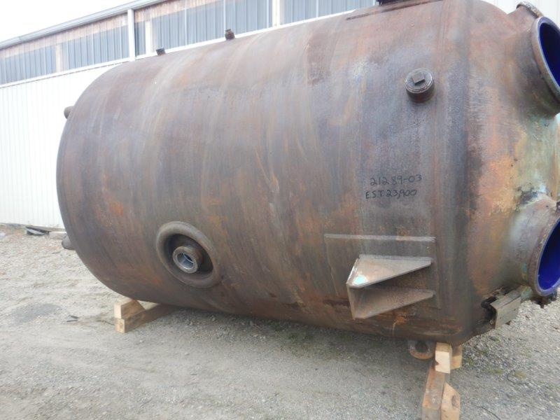 4000 Gallon Glass Lined Reactor Body