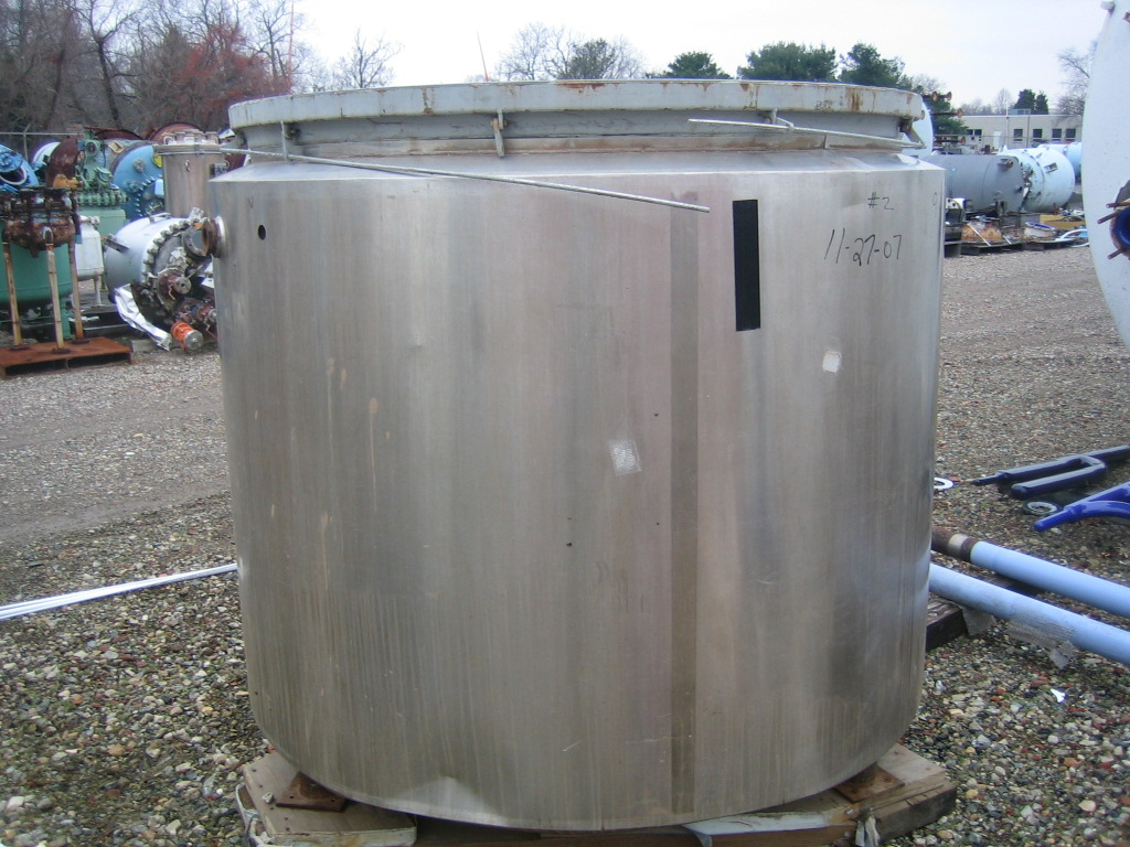 500 Gallon Glass Lined Reactor Body