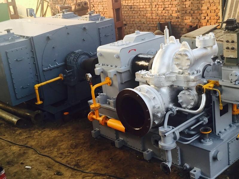 2000 kW Belliss Turbogenerator Set