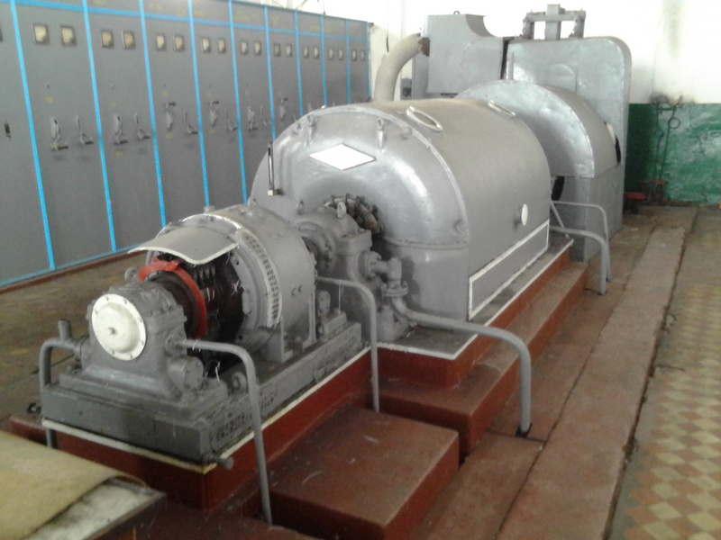 1500 kW 15 Bar Kaluga Steam Turbogenerator Set