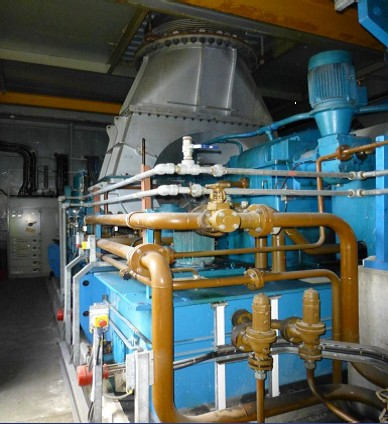 8600 kW 40 Bar Condensing Turbine Generator Set