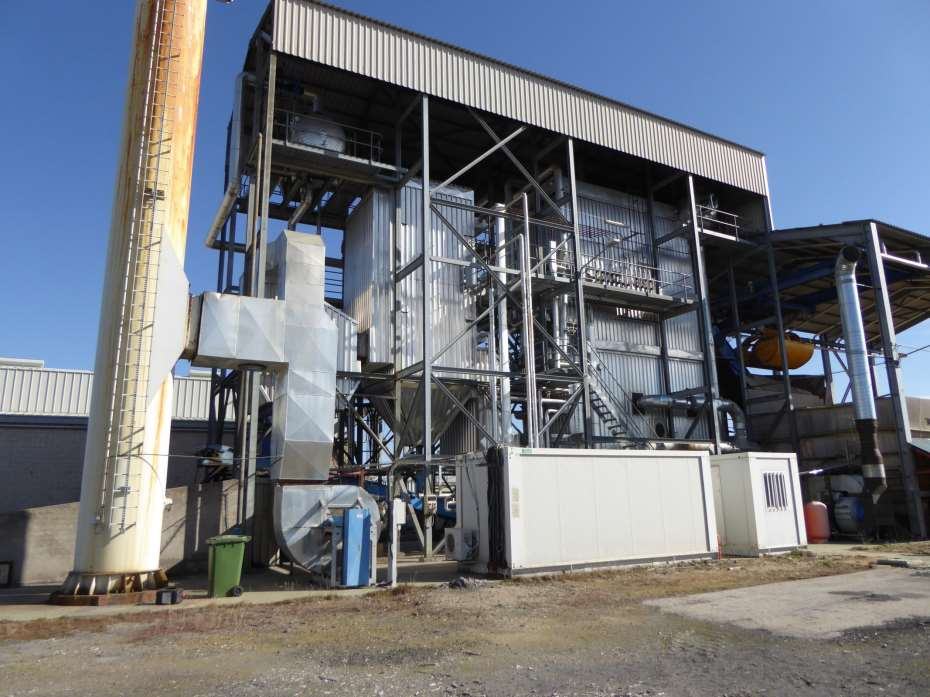Used 3600 kW Biomass Power Plant