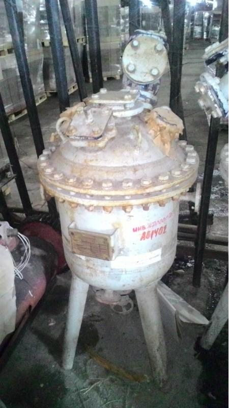 50 Liter 6 Bar Internal, 6 Bar Jacket Lampart Glass Lined Reactor