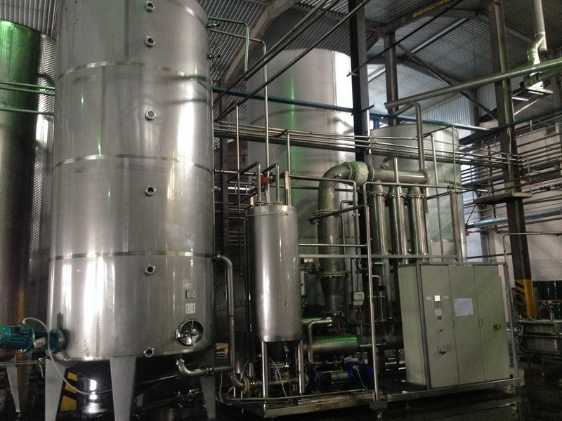 Used Membraflow UF-8000 membrane filtration for the fruit juices