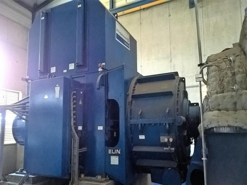 5000 KW 6300V 50HZ BIOMASS CHP PLANT            €2500000-EU