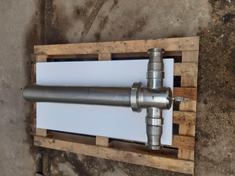 Parker Zander S19-B nerezové sanitární filtrační pouzdro