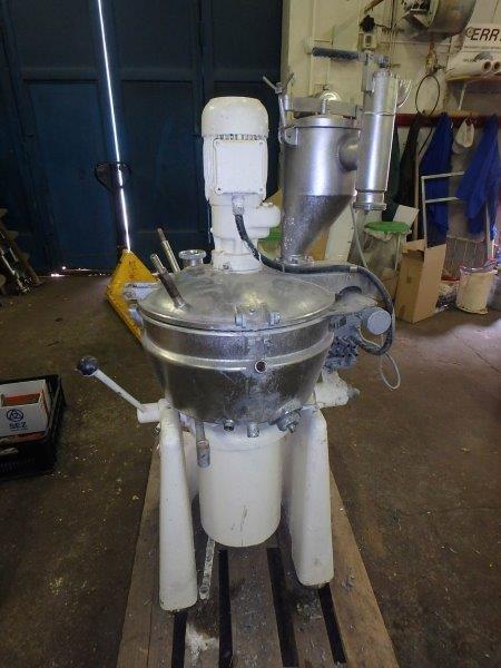 40 litrů Stephan model UM/HC 40E nerezový rychloobrátkový univerzální mixér