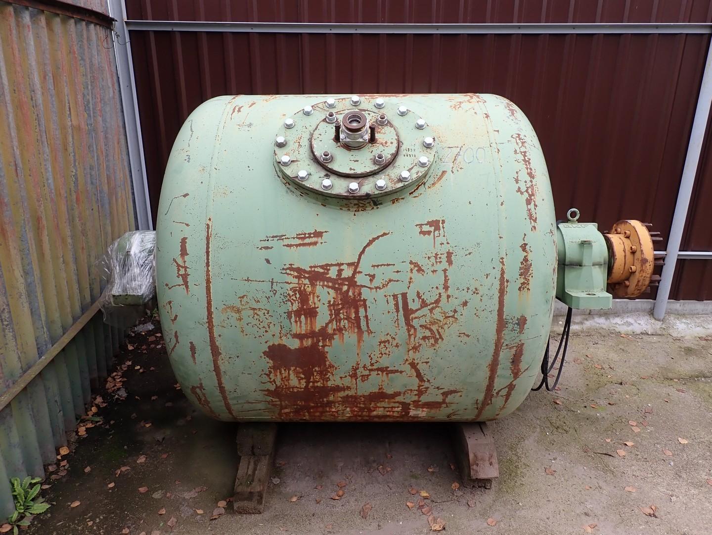 1580 litrů, Netzsch kulový mlýn z běžné oceli