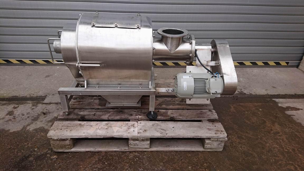 300x400 mm, AT Engineering rotační sítovačka, nerezová