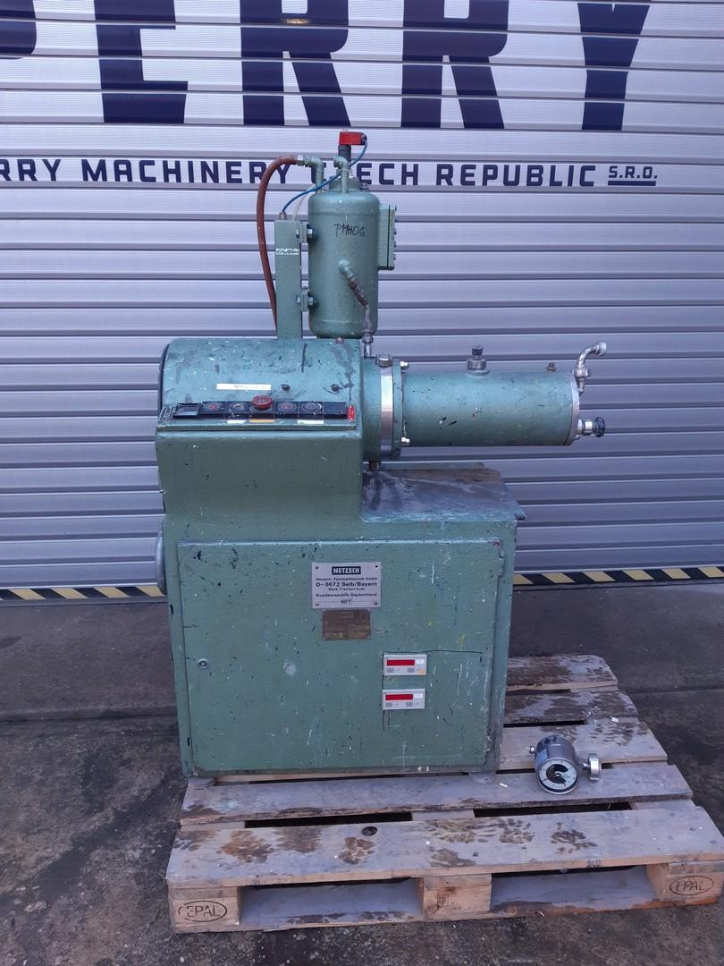 4 litry, Netzsch model LME 4 nerezový perlový mlýn
