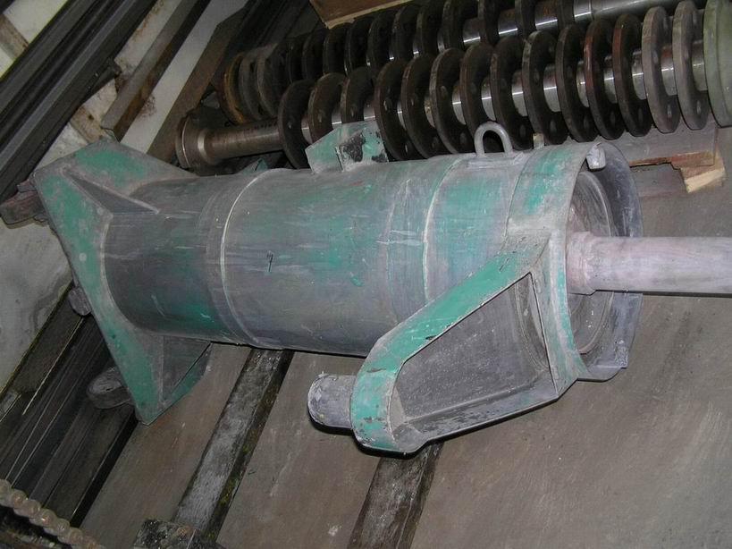 140 litrů, Tetra Plus model PM 140 perlový mlýn z běžné oceli