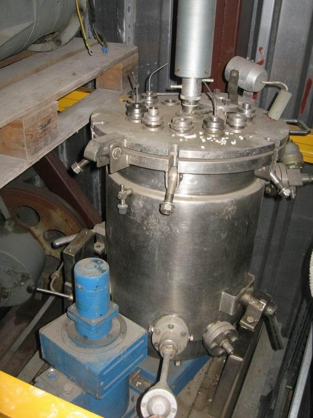50 litrů, Kralovopolska Strojírna nerezový míchaný fermentor