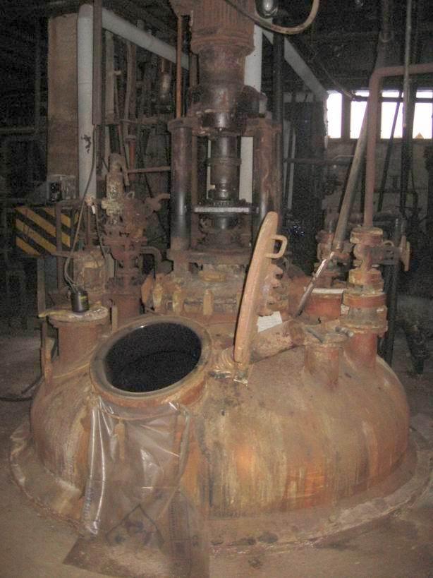 10900 litrů, 6 bar vnitřní, 6 bar duplikace, Thale smaltovaný duplikovaný míchaný reaktor