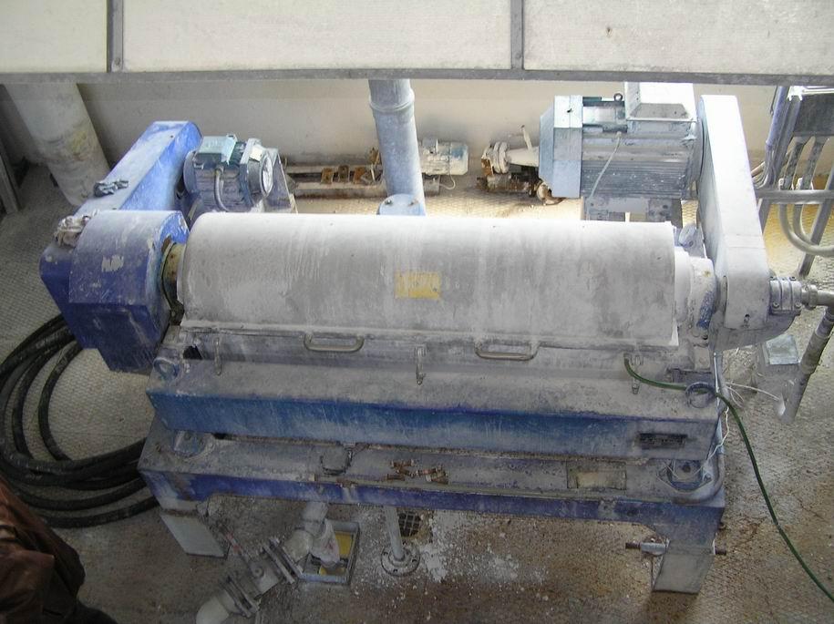 Alfa Laval NX418 B-31 nerezová dekantační odstředivka