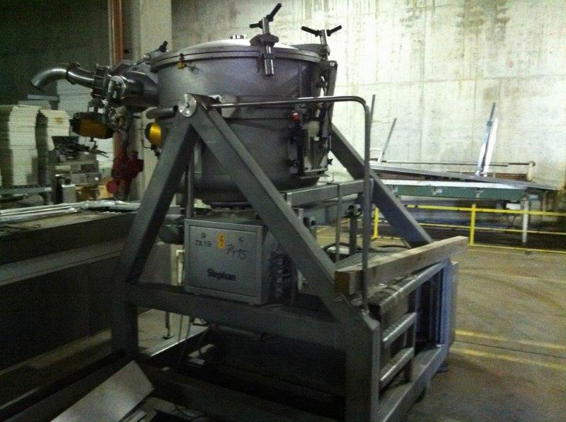 600 litrů, Stephan model VM600 + model MCHD 60C multifunktní systém