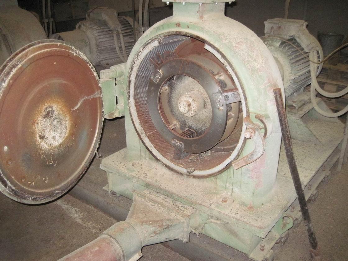 75 kW, TMS model MK 60 M úderový mlýn