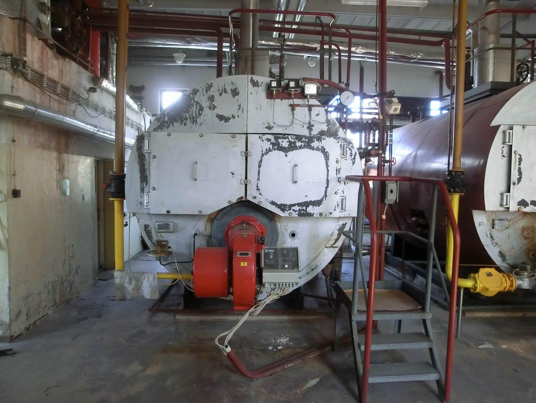 1600 kg/hod, Sigma Slatina model VSP 1600 vyvíječ páry s plynovým hořákem