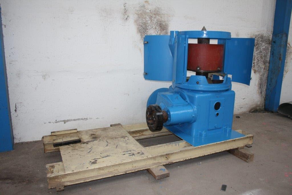 55 kW, TMS model TL 600 talířový granulátor