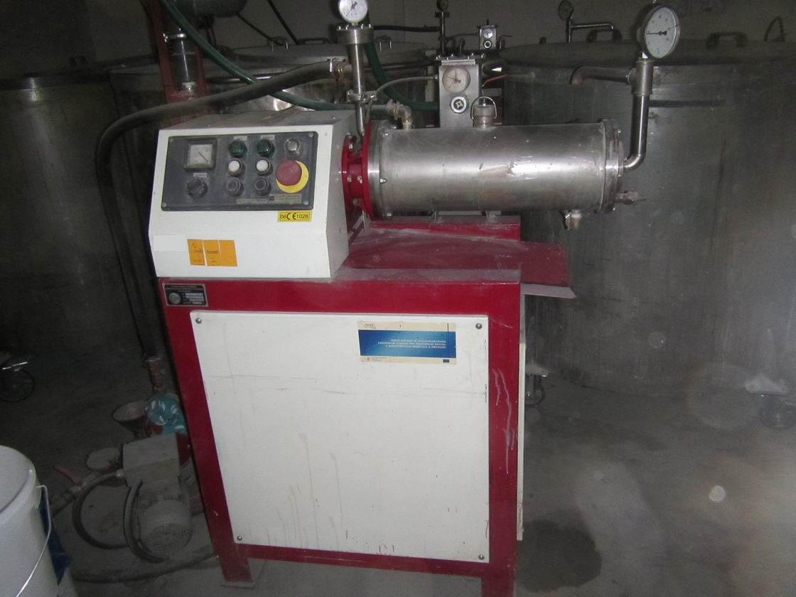 7 litrů, Prochem model SPD-7 nerezový perlový mlýn