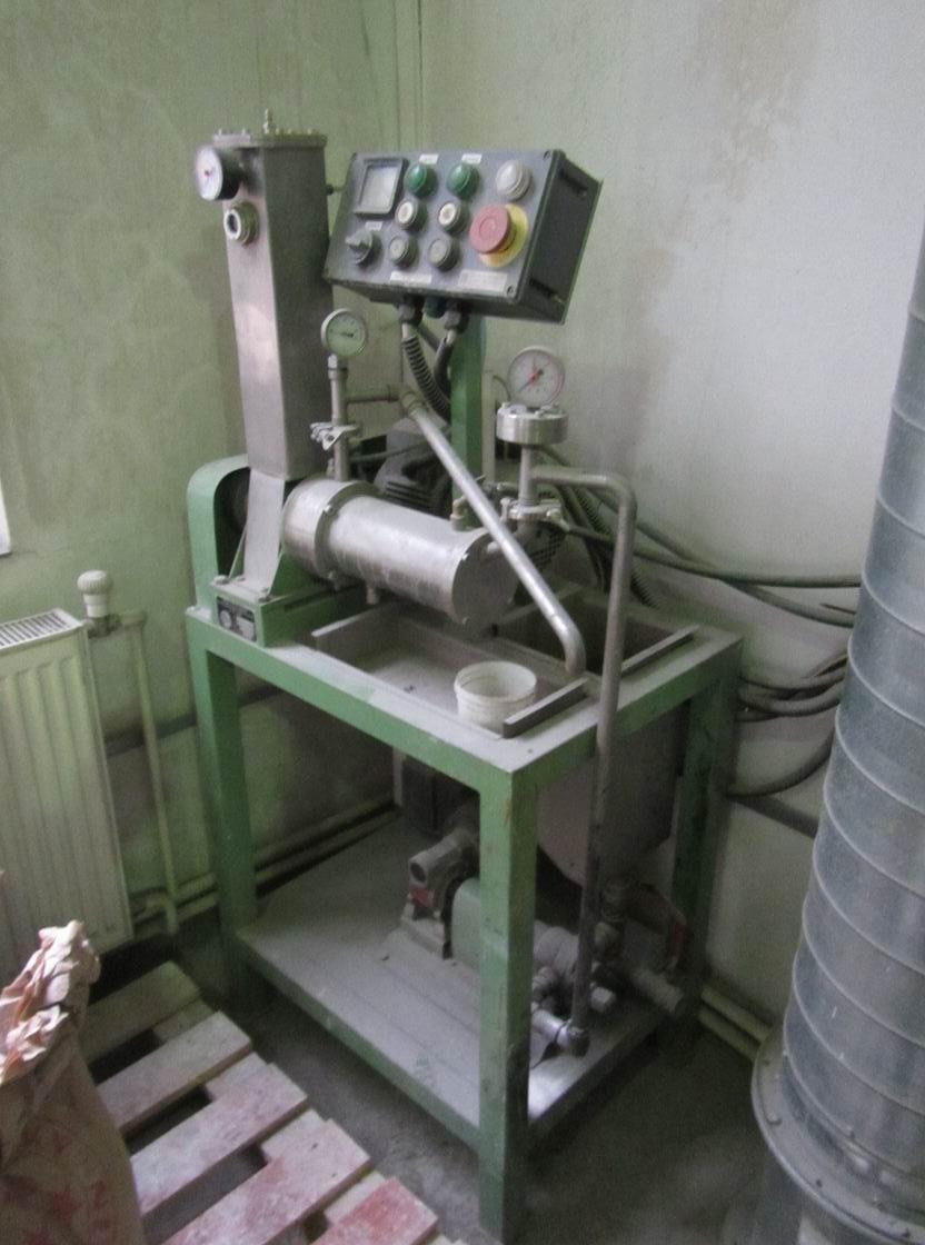 1 litr, Prochem model MPD-1 nerezový perlový mlýn