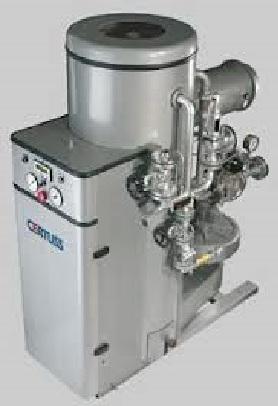 150 kg/hod, Certuss model Junior REPASOVANÝ vyvíječ páry s plynovým hořákem