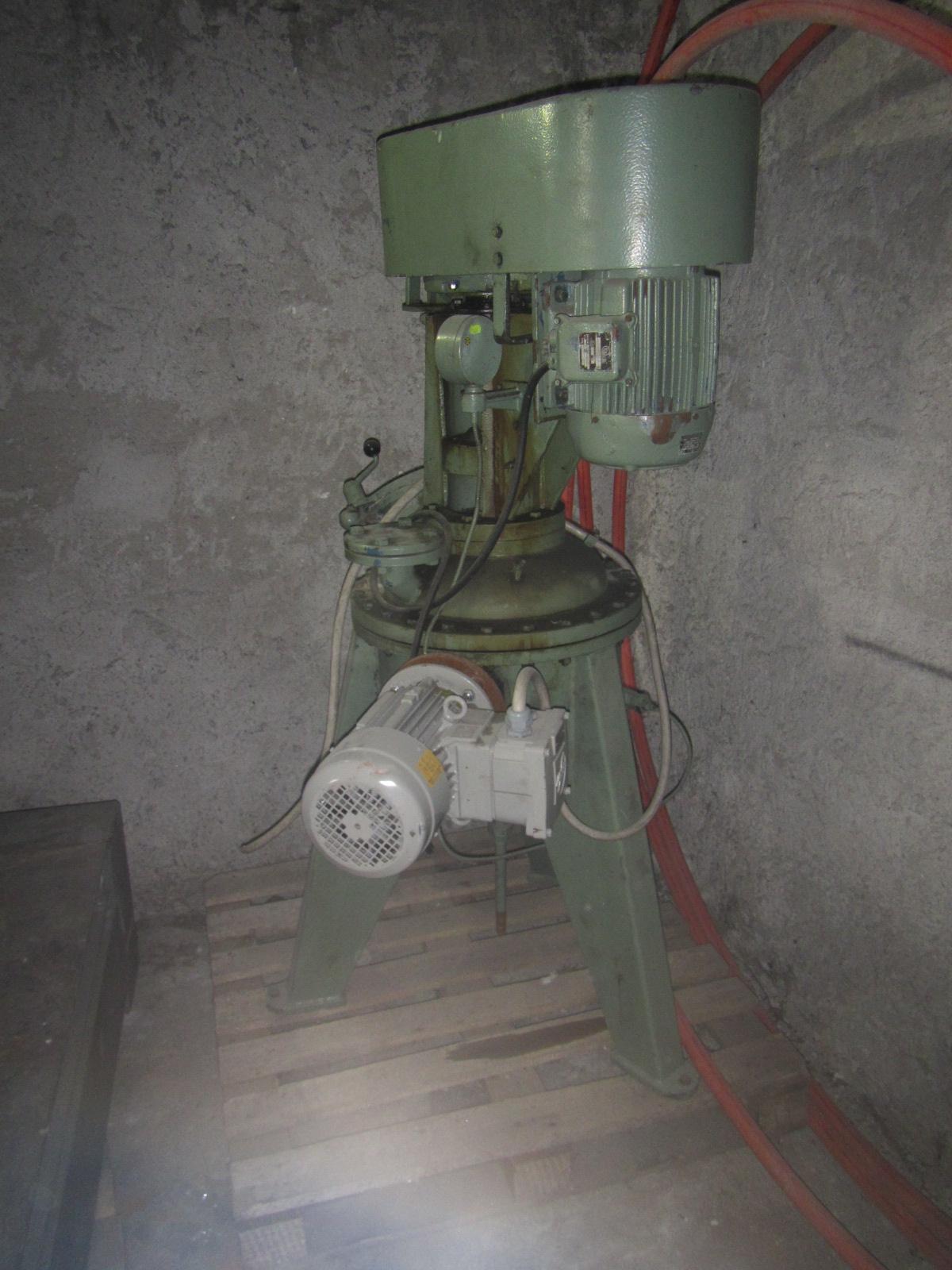 35 litrů, Papenmeier model NOSMK-KS nerezový duplikovaný mixer