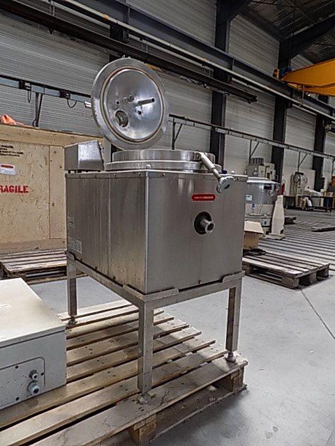 300 mm x 150 mm Rousselet model RC 30 VX.R nerezová bubnová odstředivka
