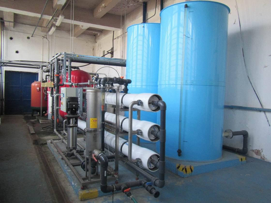 Waleon chemická úpravna vody na bázi revezní osmózy