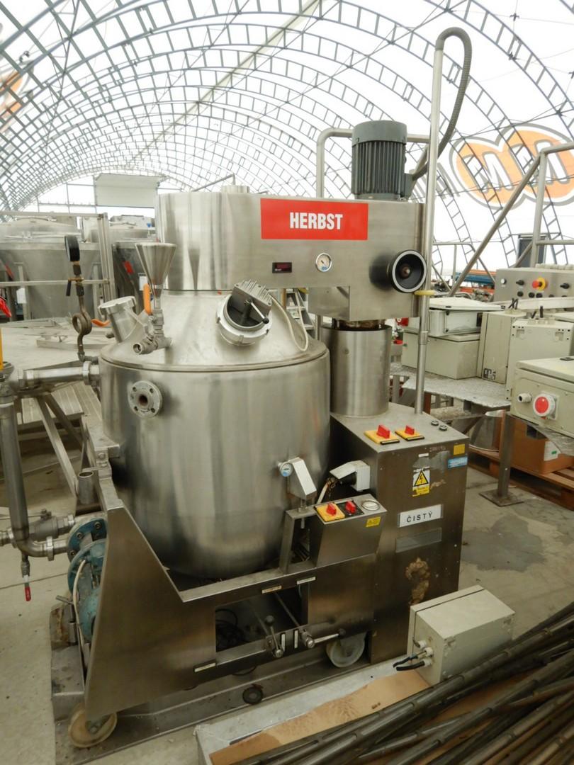 300 litrů, Herbst HRV 300 H nerezový homogenizační kotel vč. koloidního mlýnu