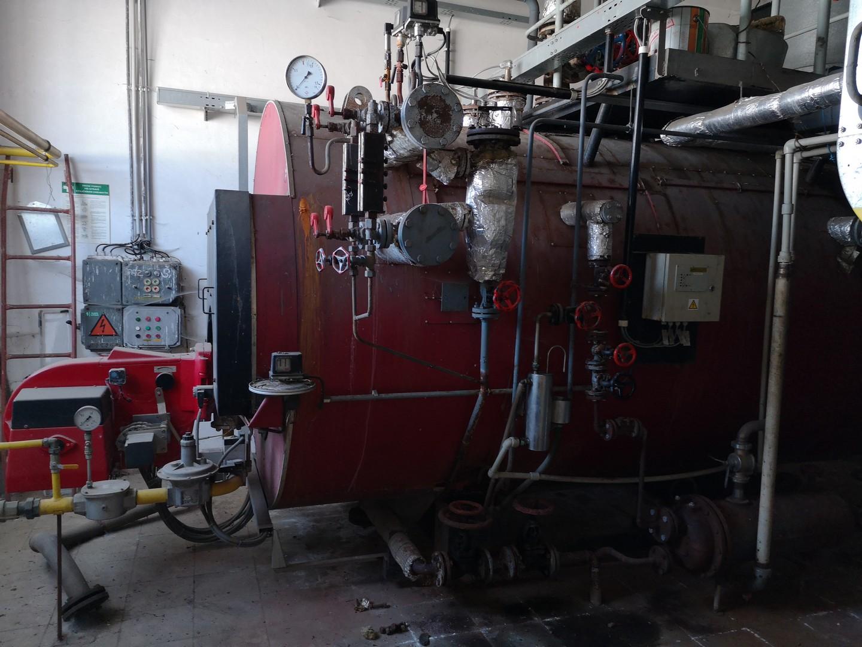 2500 kg/hour 11 bar Roučka Slatina model VSK 2,5-1 parní kotel
