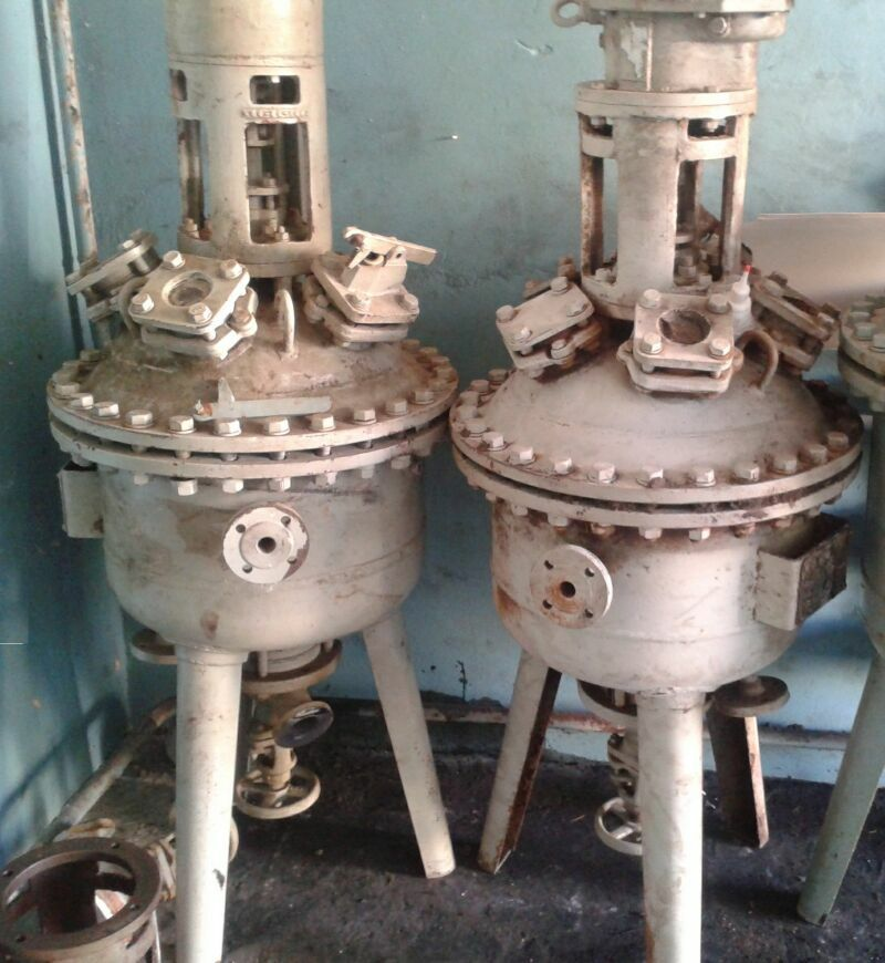 30 Litre, 6 Bar Internal, 6 Bar Jacket, Lampart Glass Lined Reactor