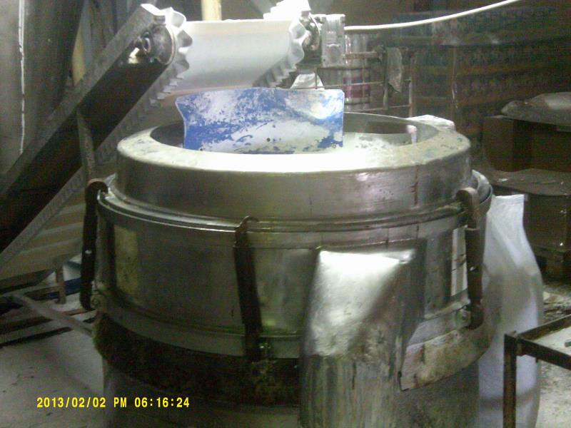 900 mm, 1-Deck, Stainless Steel Russell Finex Model 15500 Sieve