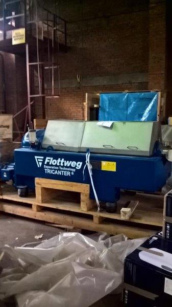 Flottweg Z4E-3/441 420mm Bowl Dia Tricanter Centrifuge