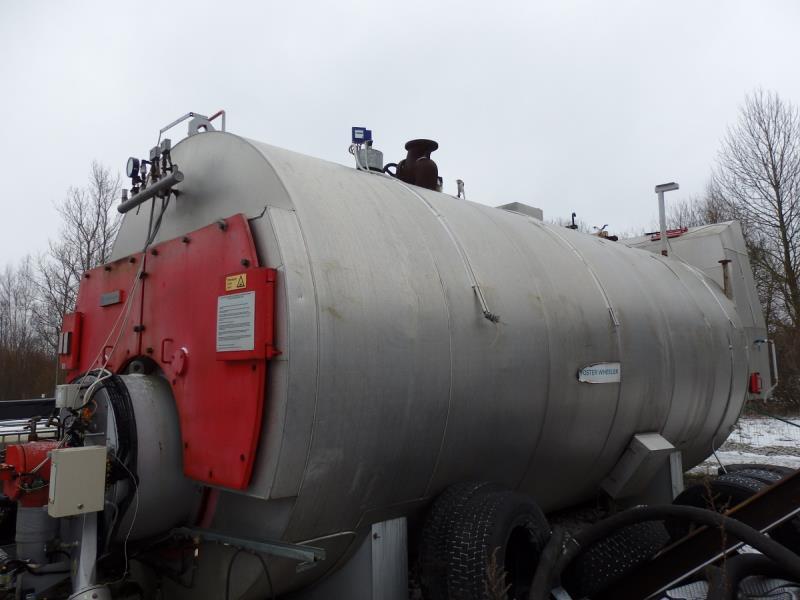 1000 HP 175 PSI Foster Wheeler FW 25-16 Steam Boiler