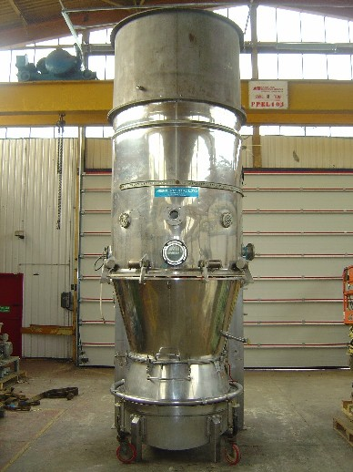 Aeromatic Type S6 Stainless Steel Fluid Bed Dryer/Spray Agglomerator