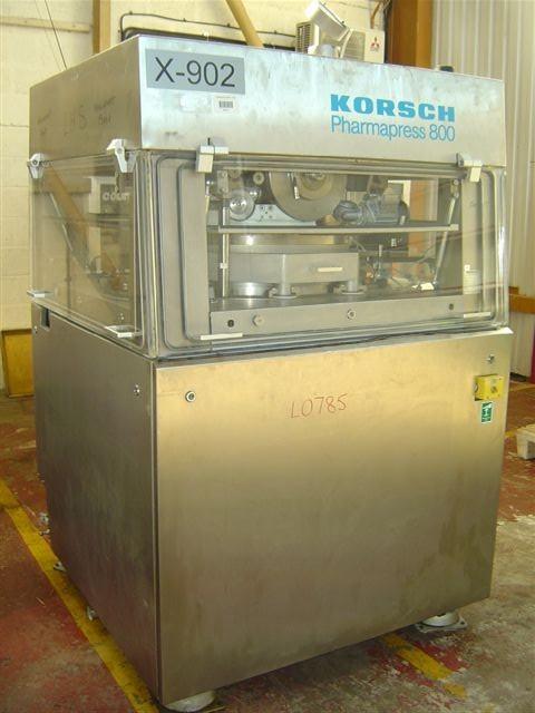 8.0 Tons 77 Station Tablet Press Korsch PH800/77