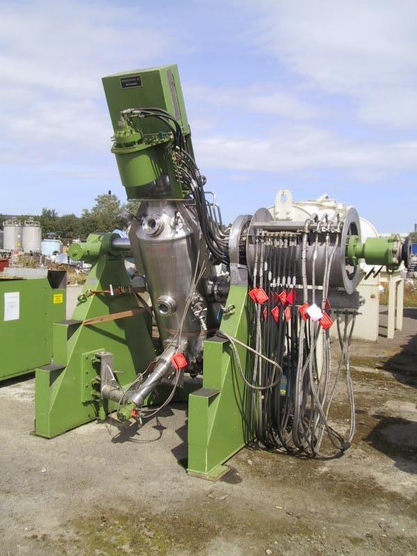 0.25 Sq. M. Rosenmund Nutrex Stainless Steel Reactor Filter Dryer