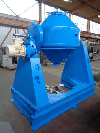 1,040 Litre De Dietrich Stainless Steel Double Cone Vacuum Dryer Blender, Used Refurbished