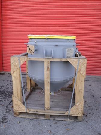 630 Litre, 6.6 Bar Internal, 6.6 Bar Jacket, Pfaudler Balfour Glass Lined Reactor