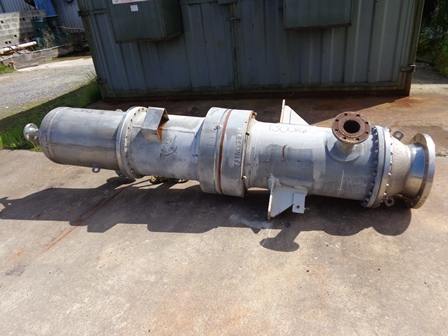 37.4 Sq. M. Shell and Tube Heat Exchanger