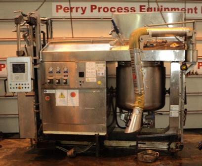 500 Litre 12 HP Olsa MPEF 500 316L Stainless Steel Vacuum Mixer Homogenizer