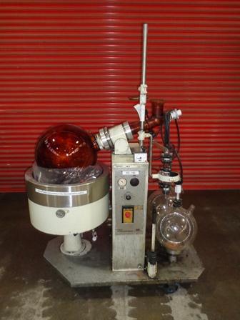 Buchi model 185EX vakuová skleněná rotační odparka