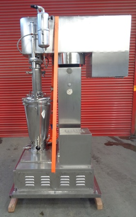 50 Litre Netzsch Model PMD Pharma 50 Stainless Steel Pre-Mix Disperser