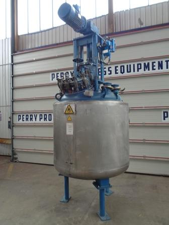 1,000 Litre, FV/6 Bar Internal, FV/30 Bar Jacket, De Dietrich Glass Lined Reactor Body